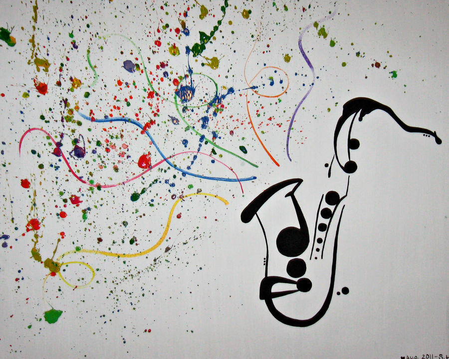 Music adds colour to a life lived in black + white by ...