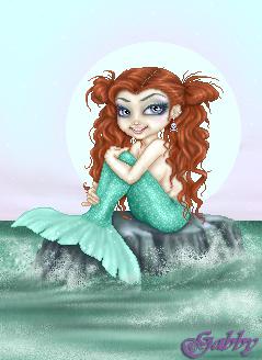 Harlee Mermaid by Dagabster2