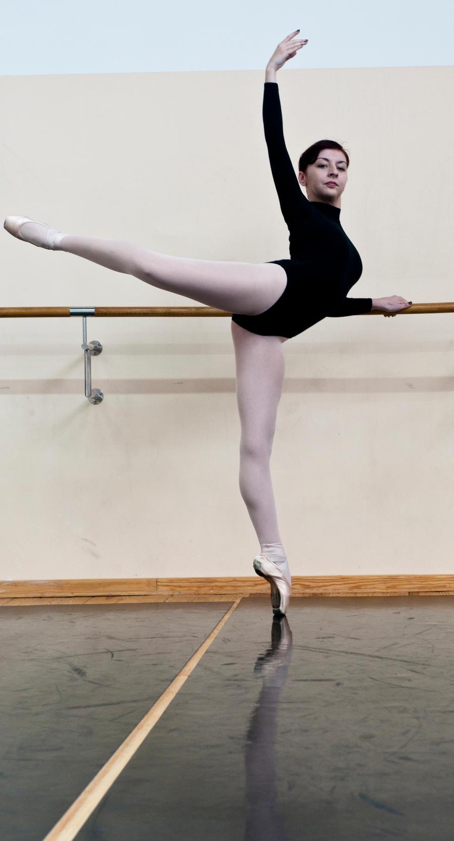 Ballet attitude by VizualMuzical on DeviantArt