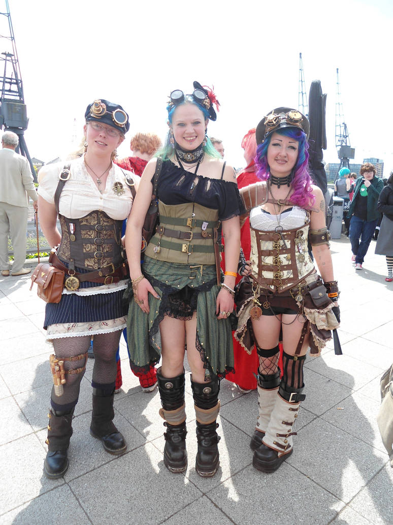 Steampunk MCM Expo 2013 by Lady-Avalon