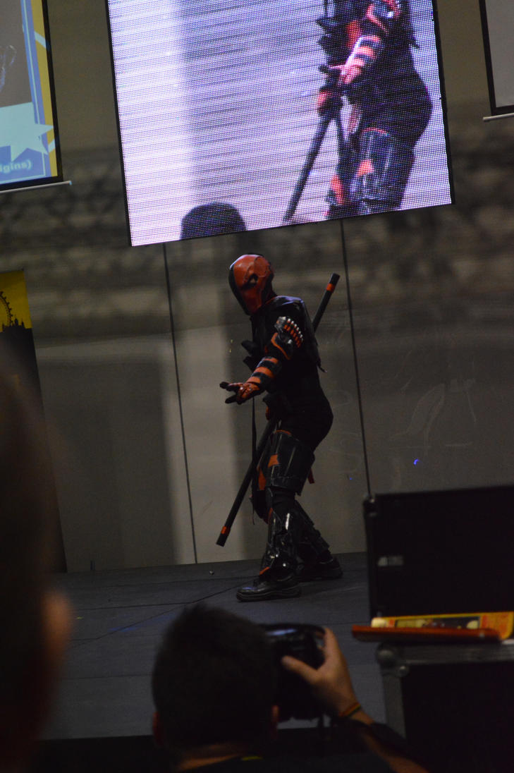 LSCC 2014 Masquerade Deathstroke by Lady-Avalon