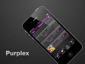 Purplex iOS Mobile UI