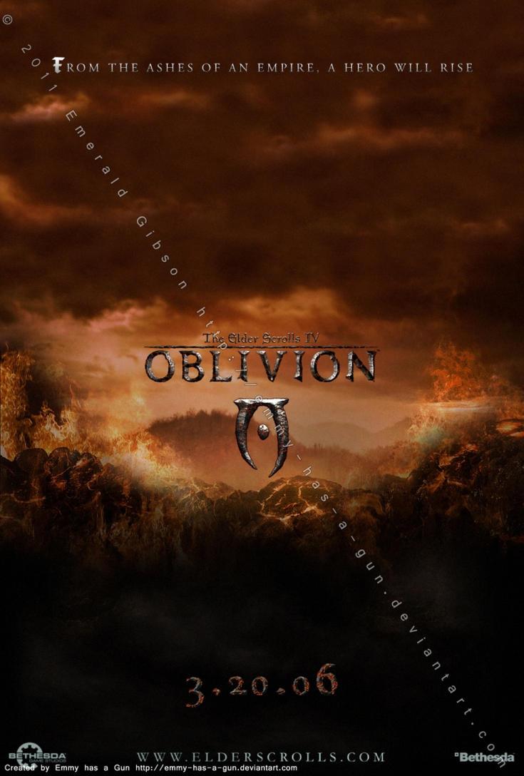TES IV: Oblivion Poster by Emmy-has-a-Gun