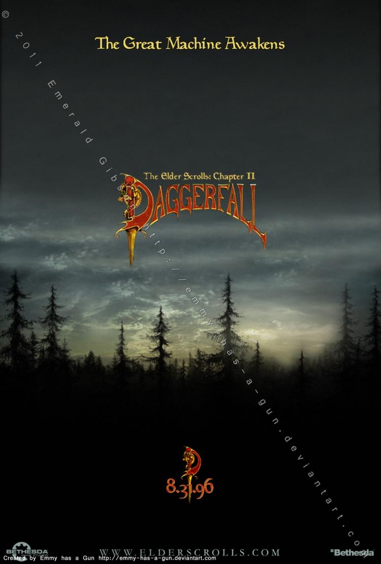 TES II: Daggerfall Poster by Emmy-has-a-Gun