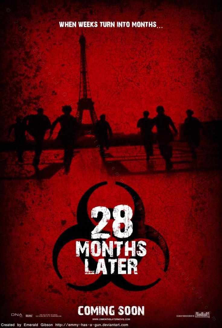 28 months later poster by emmyhasagun on deviantart