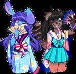 Kimonos are a girl's best friend by MetaZephere