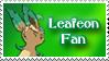 Leafeon fan stamp