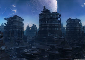 SinE City- Planet SC- 06 WM by AlexNIKO