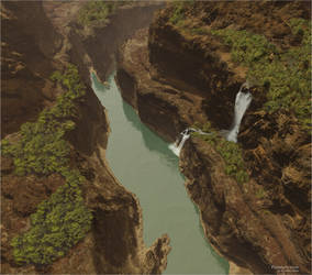 Pterano's river by AlexNIKO