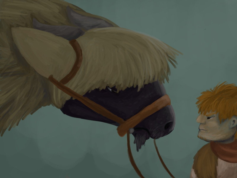 The Loyal Steed by Ramvling