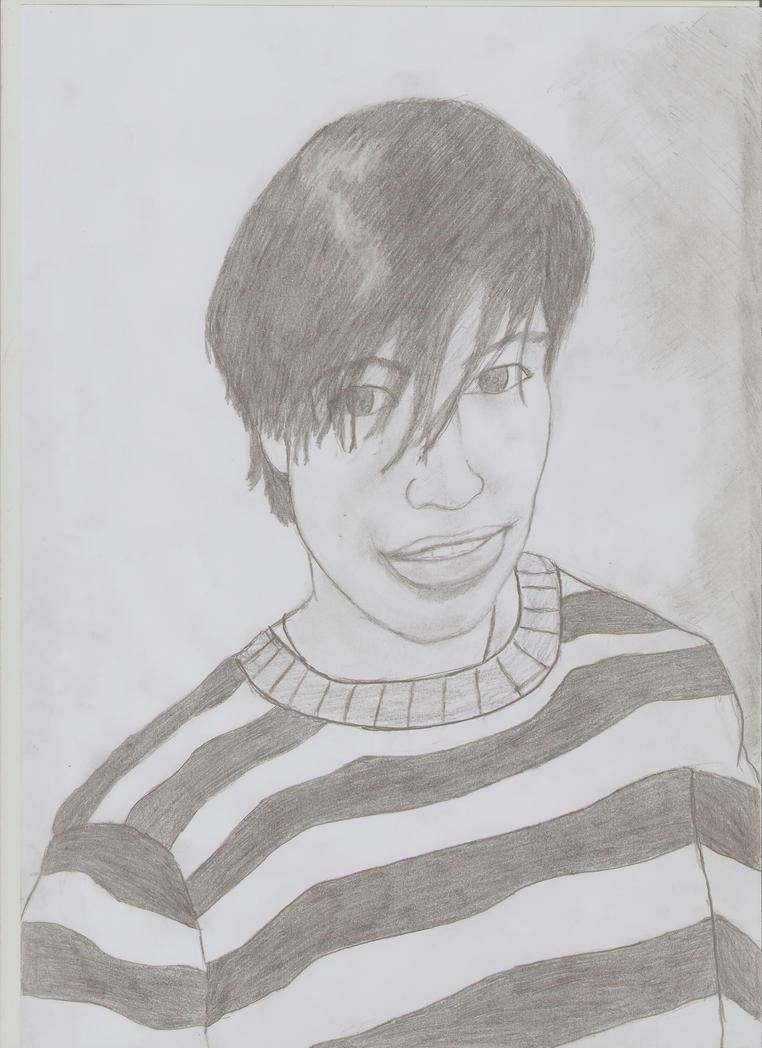 retrato de Javier R by harevh