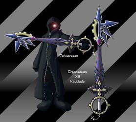 organisation 13 keyblade by darksorasan