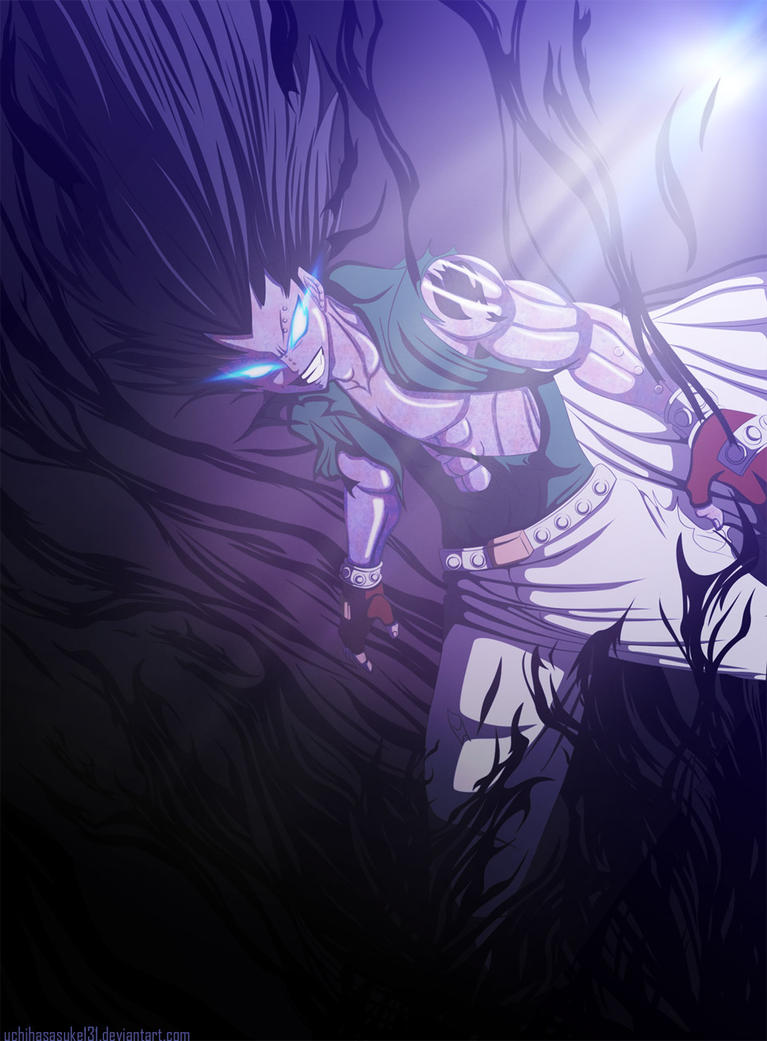 Gajeel Dragon Force Mode by LadyRaven18 on DeviantArt