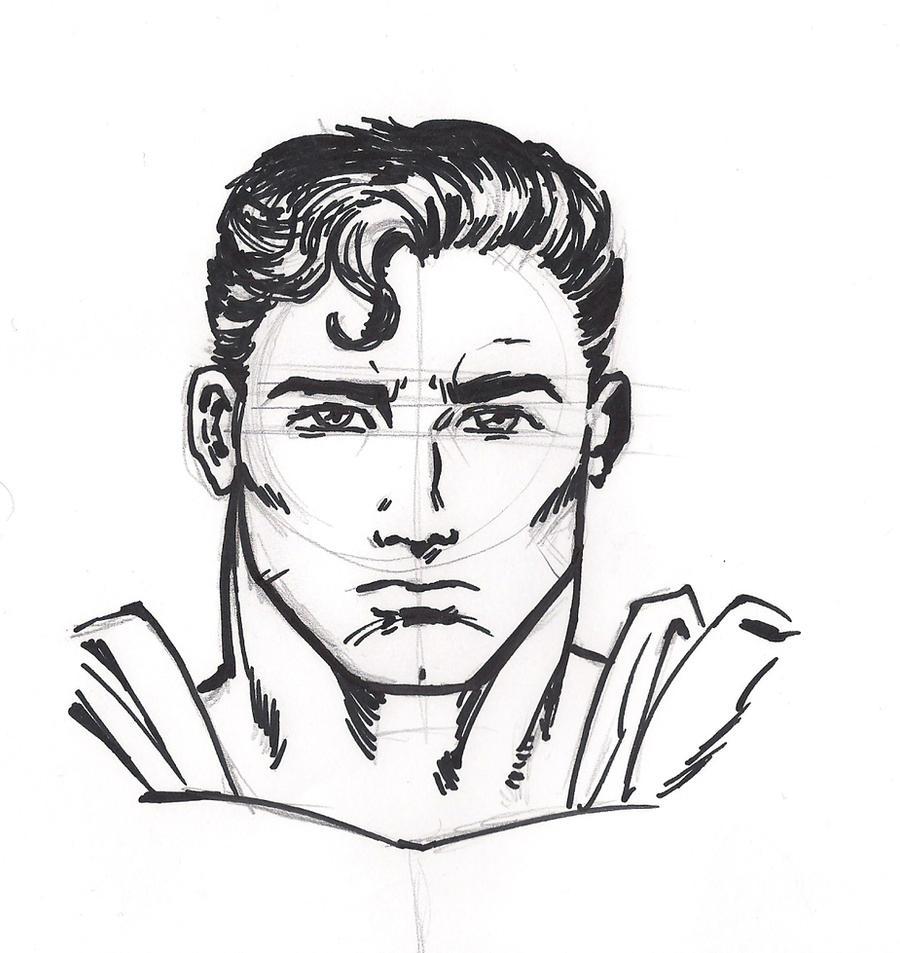 Sketch Superman by pol...