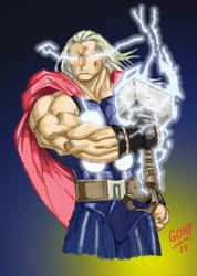 Thor version Color by pollomaxx