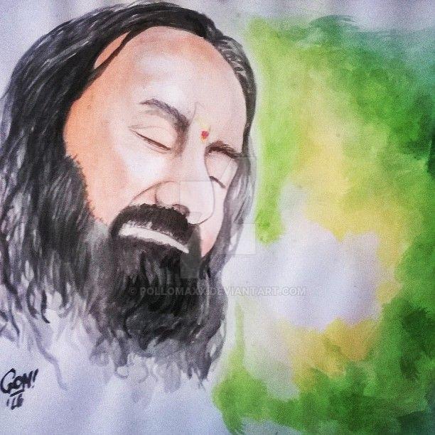 Guruji Sri Sri Ravi Shankar by pollomaxx