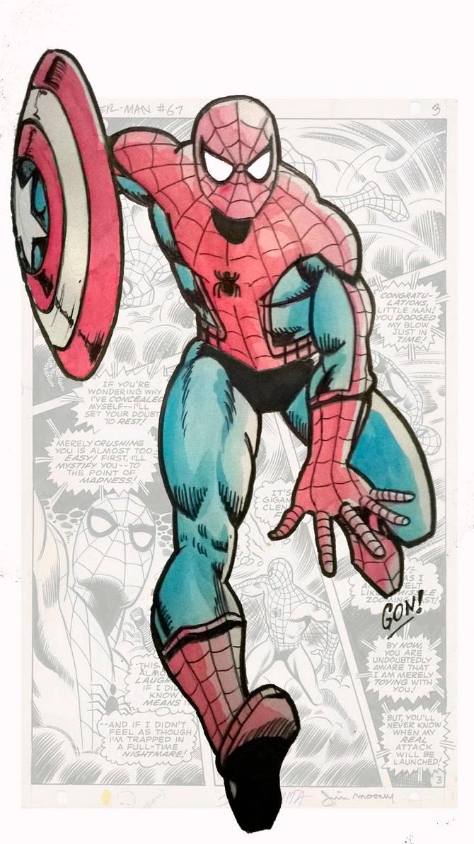 New Spider Man by pollomaxx