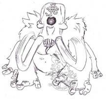 moamas evil by Black-Lepus