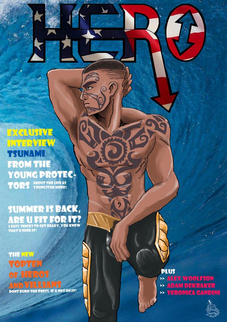 HERO the tsunami cover by Black-Lepus