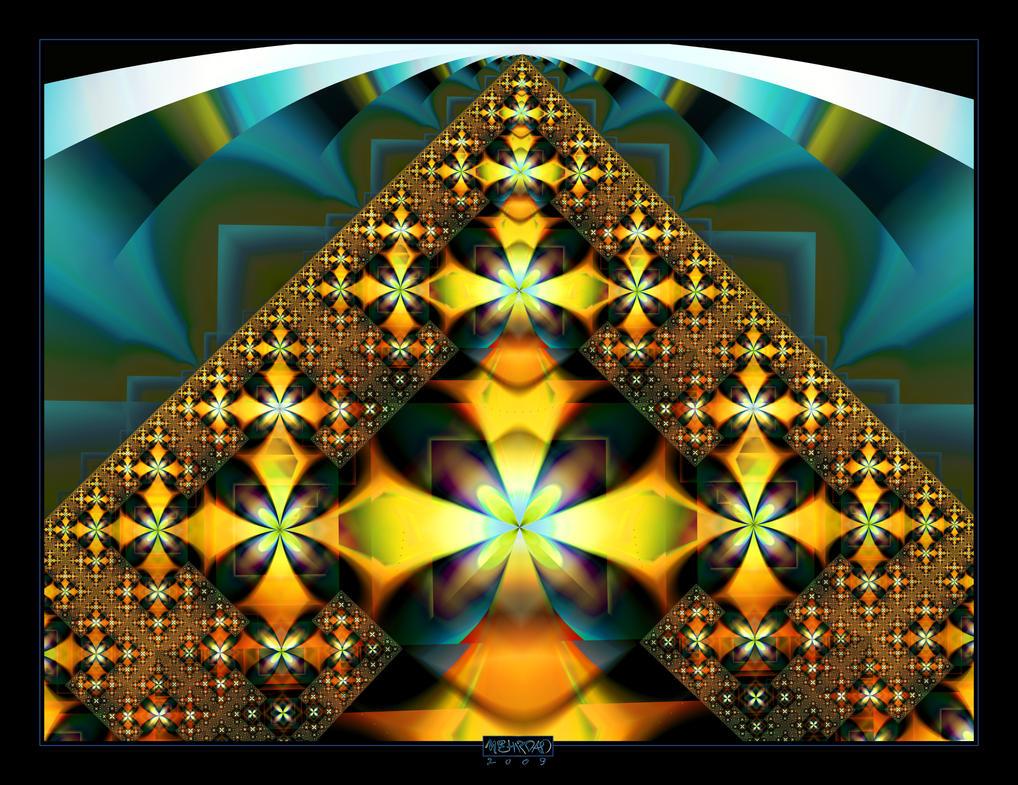 Martian Pyramid by mehrdadart