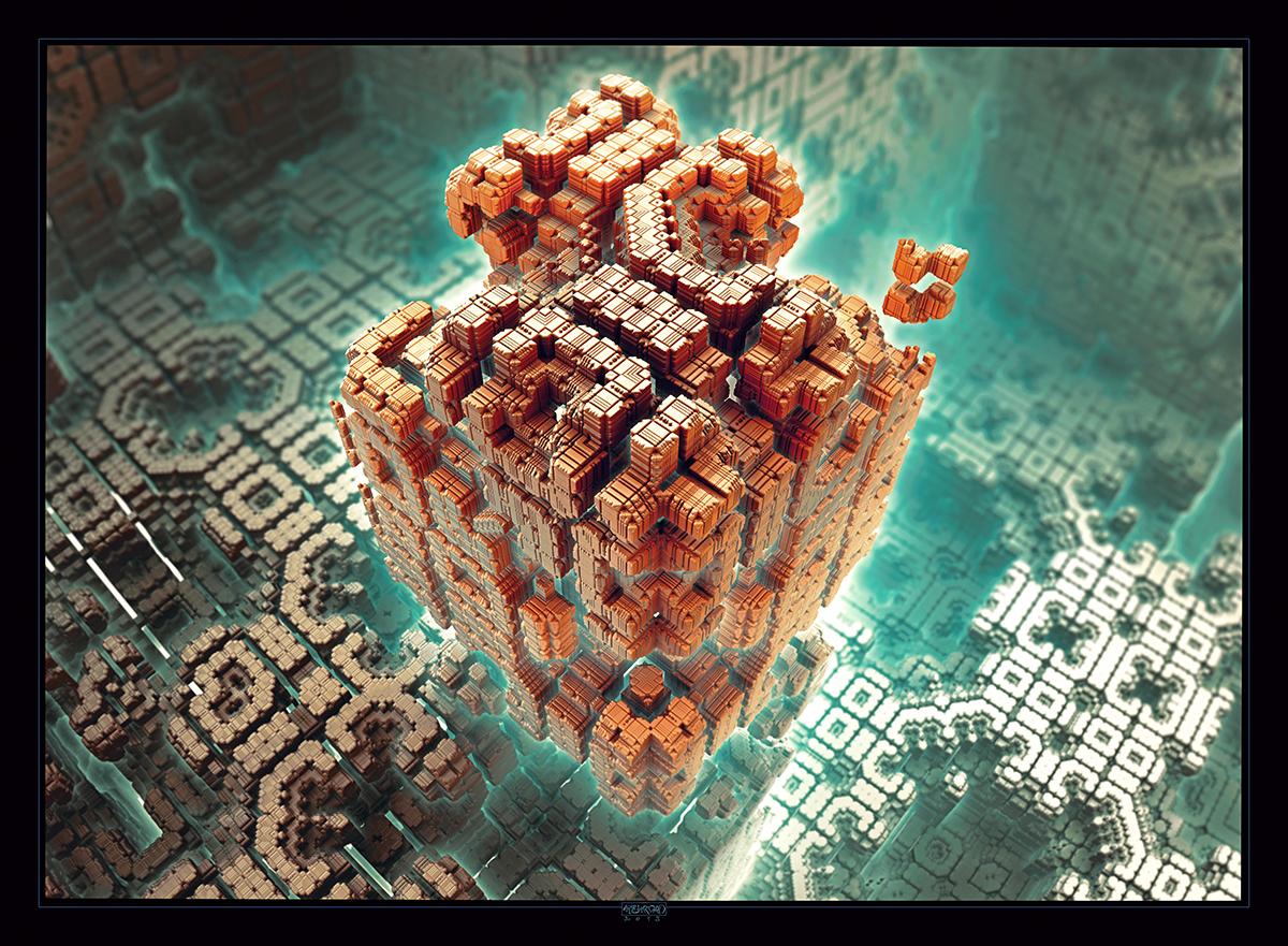 Intelligence Cube by mehrdadart