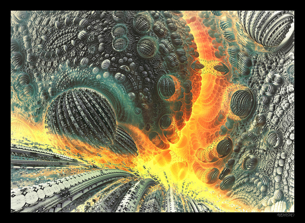 World on Fire by mehrdadart