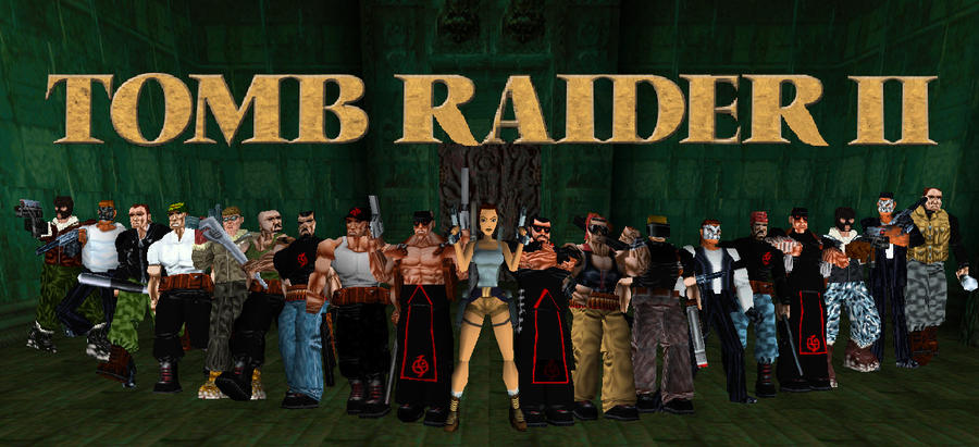 Tomb Raider II Collage