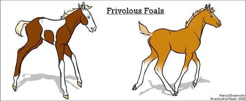 Frivolous Foals by Hazel-rah