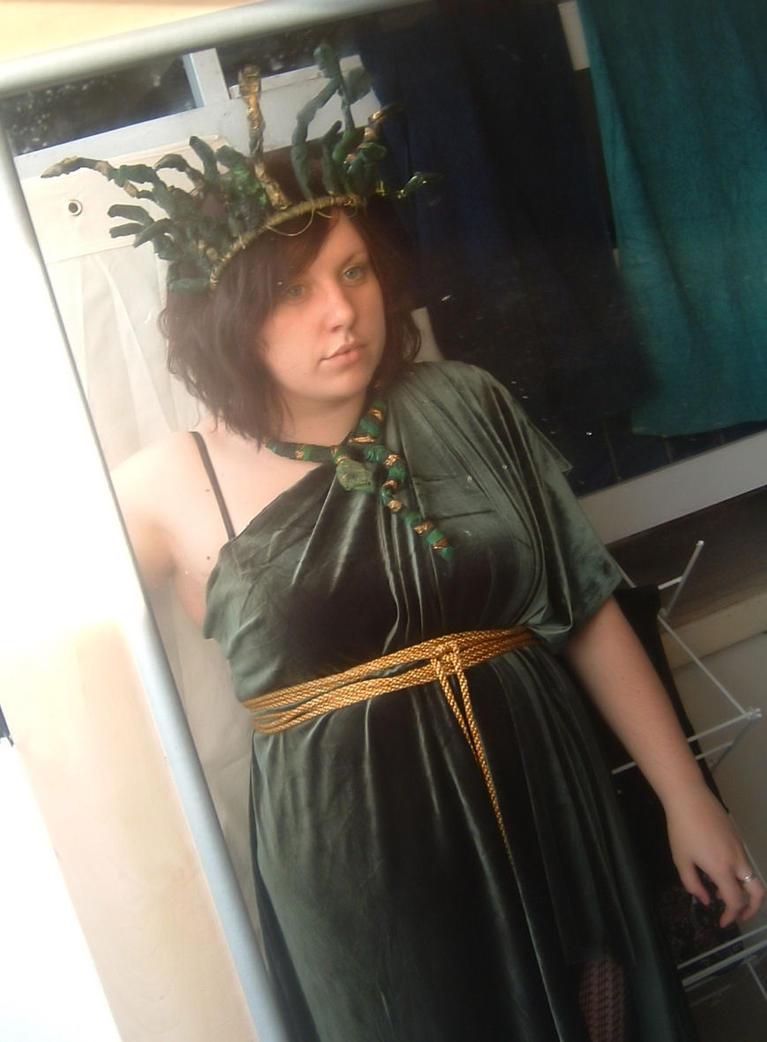 Medusa costume 1 by ecca3me ...  sc 1 st  ecca3me - DeviantArt & Medusa costume 1 by ecca3me on DeviantArt