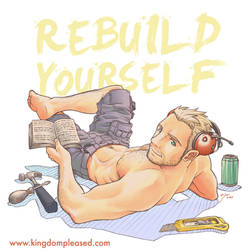 Pin up - Rebuild yourself
