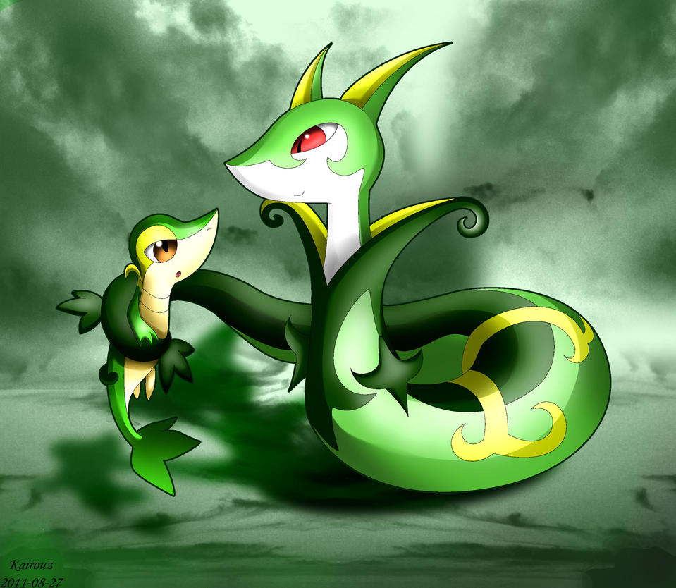 Pokemon Female Serperior Images | Pokemon Images