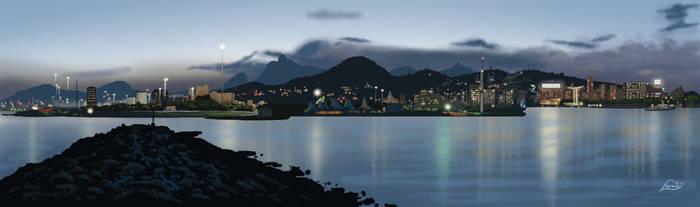Marina da gloria guanabara bay rio de janerio