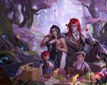 Family Illustration Commission