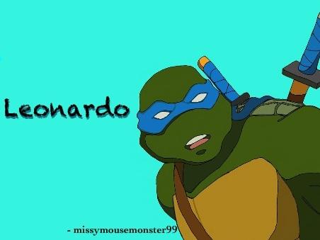 Leonardo '03 TMNT by missymousemonster99 on DeviantArt