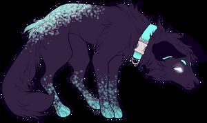 [OPEN] Nebula - a cute dogg o by inked-pastels