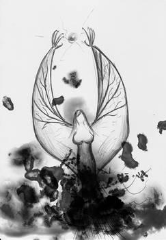 Fiendish Angel from the smoke -WIP-