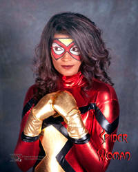 Spider Woman by EyeCandeeVisuals