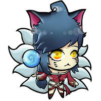 Ahri chibi vers. (League of Legends)