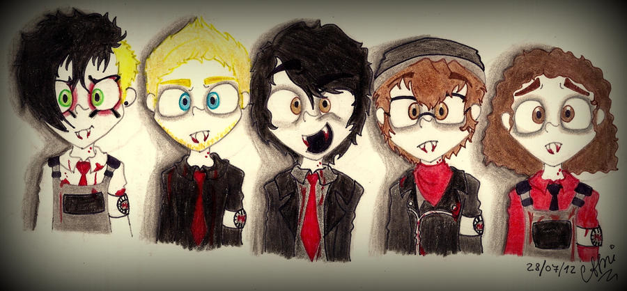 Three Cheers For Sweet Revenge by CamiGDrocker