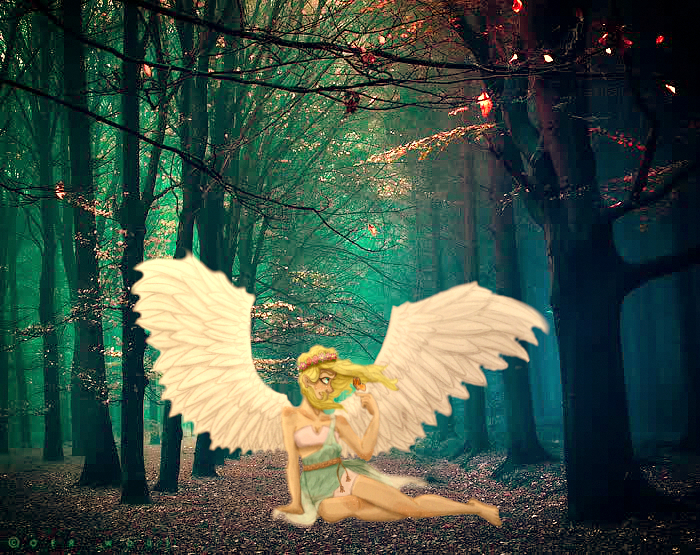 Magic forest by CamiGDrocker