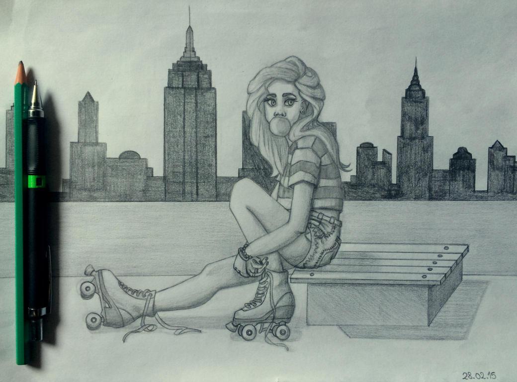 Skates by CamiGDrocker