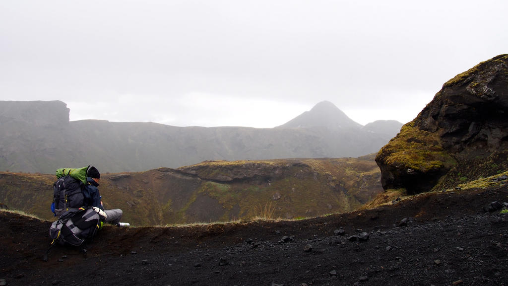 Hello little Icelandic Volcano by SteamBerry