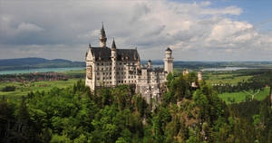Schloss Neuschwanstein by kafeidou