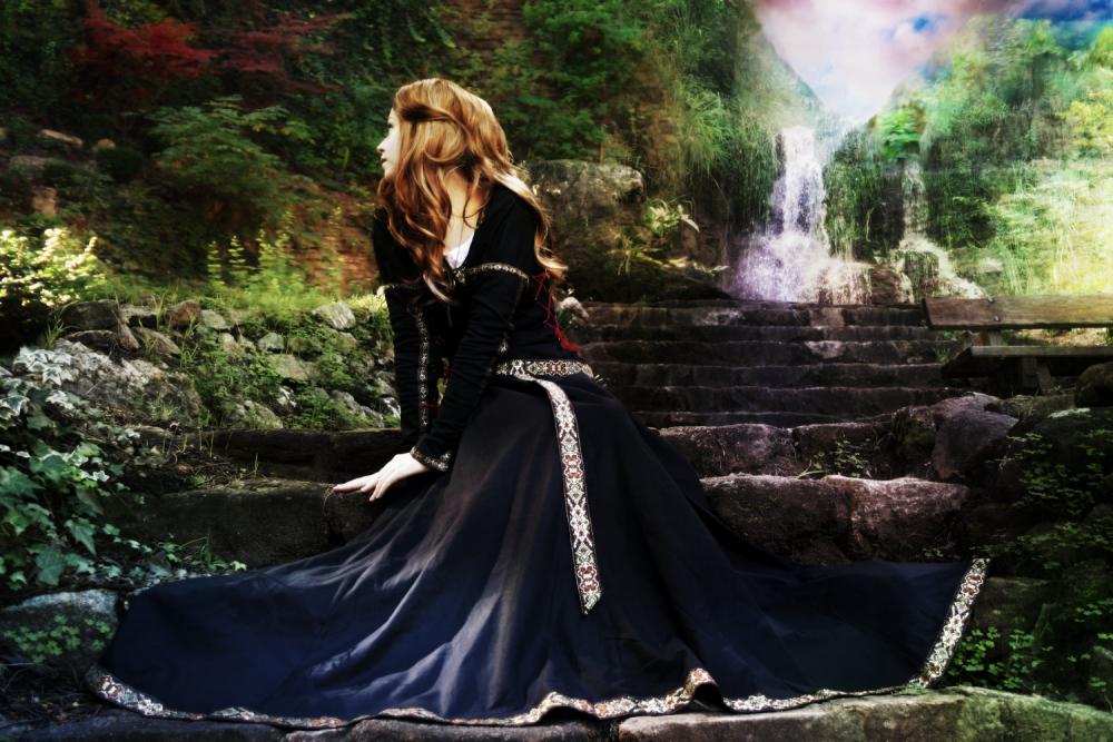 Violet Waterfalls by missiriswolfe