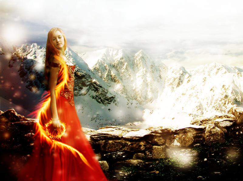 Snowfire by missiriswolfe