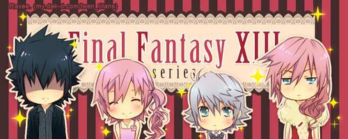 FFXIII- chibi family by raveeoftitans