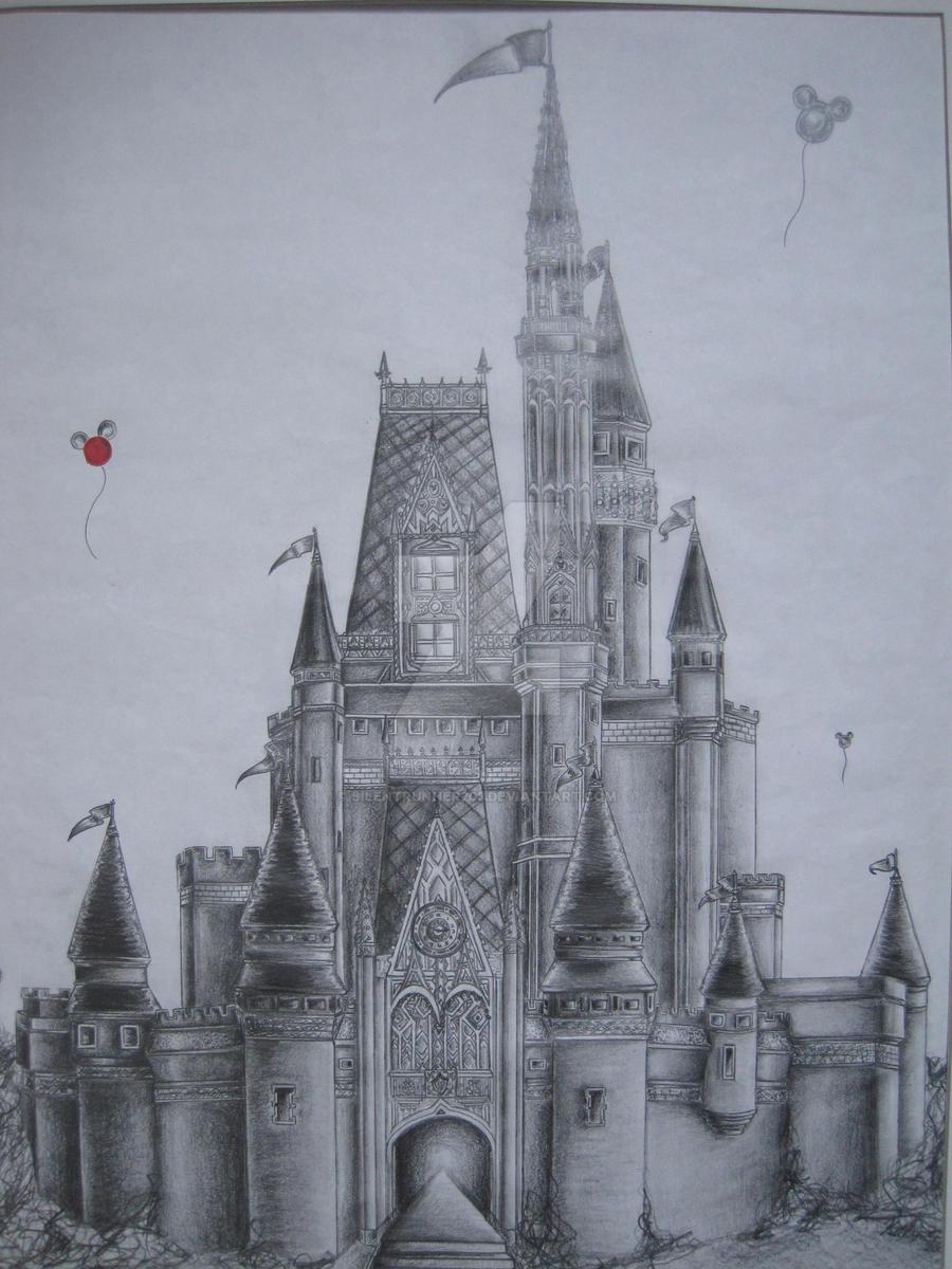 Disney Castle By Silentrunner203 On DeviantArt