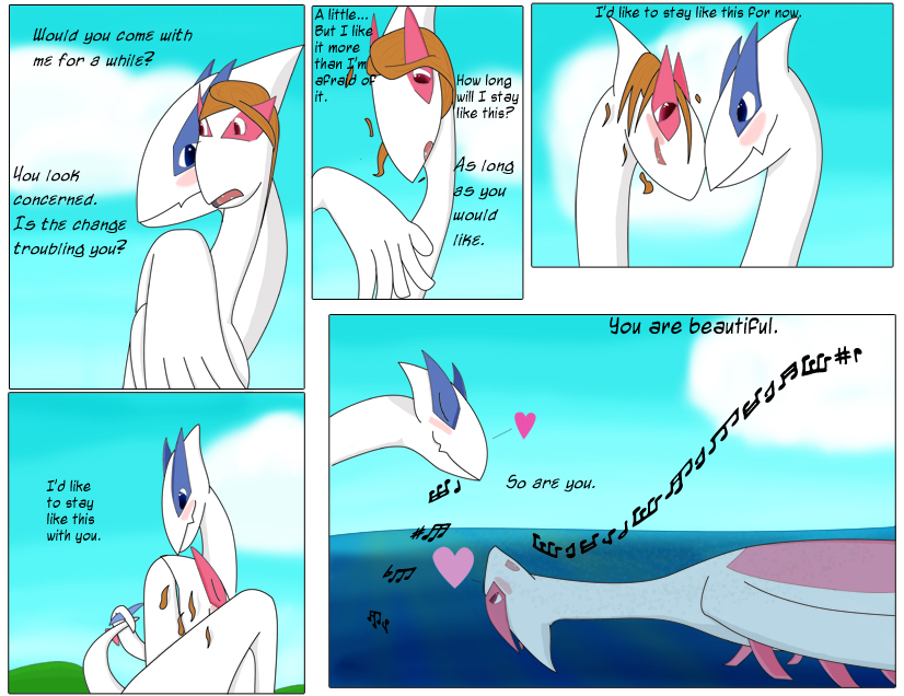 Lugia S Song Page 3 By Dsarvess On Deviantart