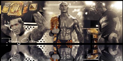 Randy Orton WWE Champion by Graphfun