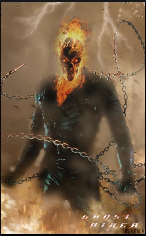 Ghostrider by Graphfun